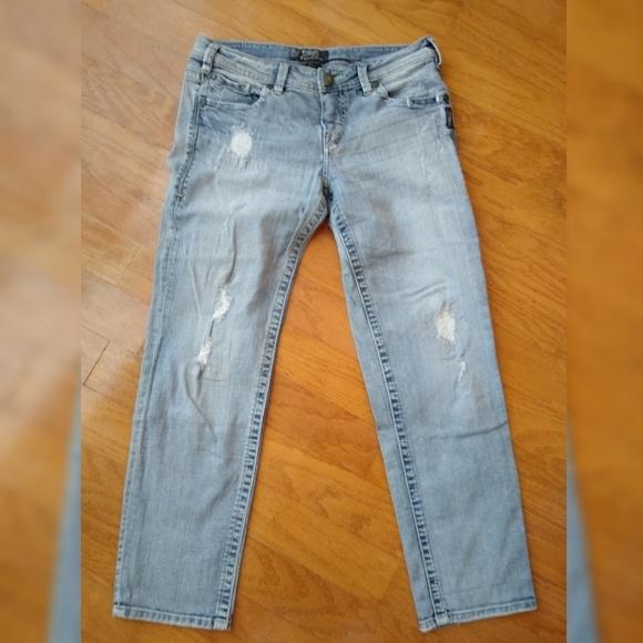 Silver Jeans Denim - Silver Jeans Co. Sam Boyfriend Fit 29x28